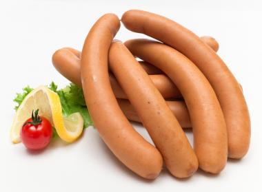 Wiener Würstchen mit Paprika